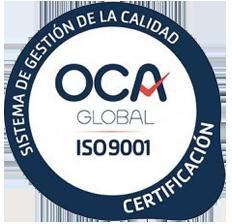 Sistema de Gestión de Calidad (OCA ISO 9001)