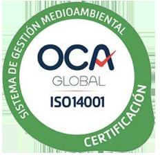 Sistema de Gestión Medioambiental (OCA ISO 9001)